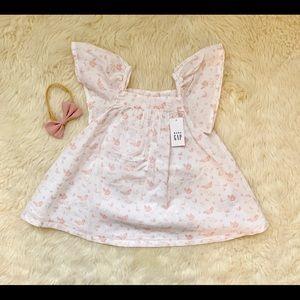 GAP 12-18M Butterfly dress